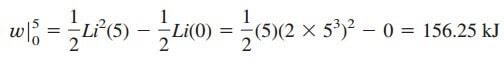 inductors equations