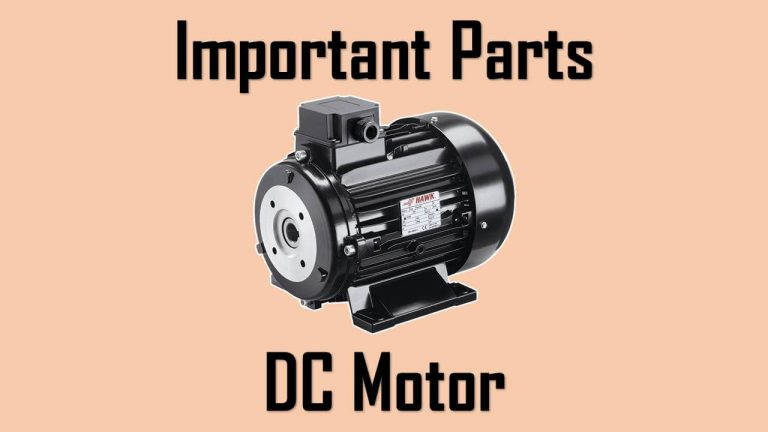 parts of a dc motor